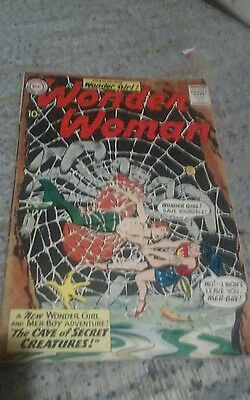 Wonder Woman No. 116 August 1960, Wonder Girl G to VG