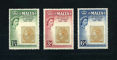 Malta  Stamps  1960  Stamps  on Stamps  MLH