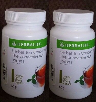 2 Herbalife Concentrate Tea 50 g - Original Flavor - FREE SHIPPING