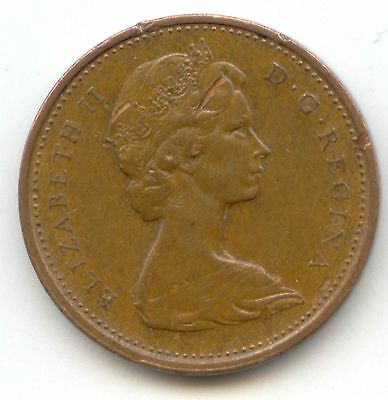 1972 Canadian PENNY one cent Canada 1c ~ Exact Coin Shown ~