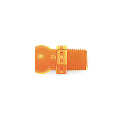 LOC-LINE Connector,3/8 In,Pk4, 51804