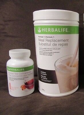 1 Herbalife Protein Shake 750 g & Herbal Tea Concentrate  50ml - FREE SHIPPING