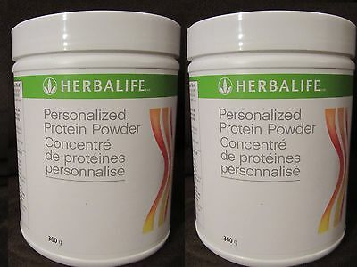 2 Herbalife Protein Powder 360 g each - BY 2 - GET FREE SHIPPING