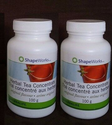 2 Herbalife Concentrate Tea 100 g - FREE SHIPPING
