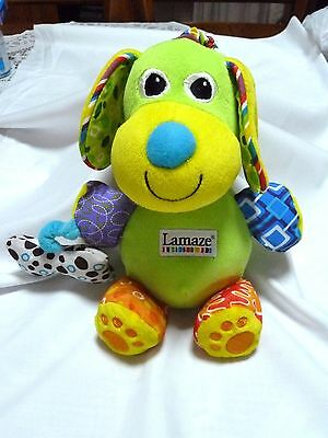~~   Lamaze Dog Rattle - As New Cond. ~~