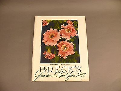 1942 Garden Seed Flower Book Catalog BRECK'S #7 of 20 listing tonight for....