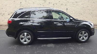 2011 Acura MDX TECH PKG. AWD TV/DVD NO RESERVE ALL POWER 3RD ROW DUAL A/C NAV CAMERA AWD TV/ DVD HEATED SEATS STEPS