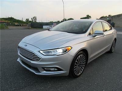 2017 Ford Fusion Titanium Ford Fusion Titanium 25K Miles LEATHER HEATED SEATS BACKUP CAMERA APP LED XENON!