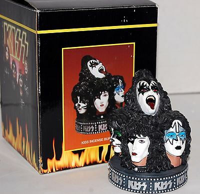 KISS Incense Burner 1998 Spencers Exclusive Gene Simmons Ace Frehley