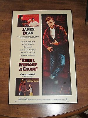 """Rebel Without a Cause James Dean Movie Plak-It Poster 10.5"""" x 16"""""""