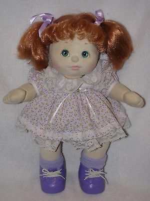 "15"" Mattel My Child Doll With Red Hair 1985"