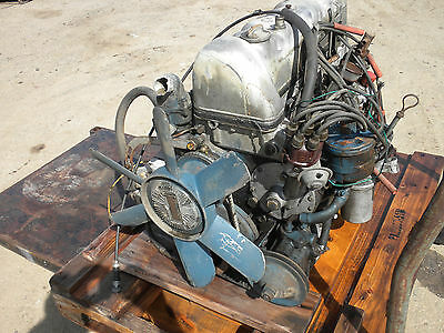 Mercedes Benz Engine W111 Coupe 250Se Convertible Used Original Vintage