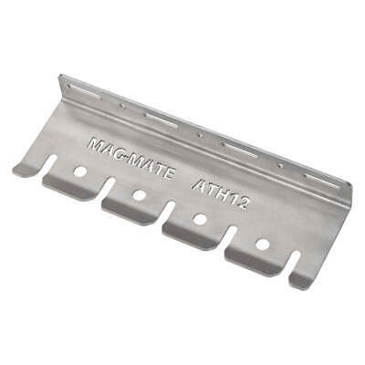 MAG-MATE Stainless Steel Air Tool Holder Rack,12 in.Lx3/8 in.Slot, ATH12-3/8