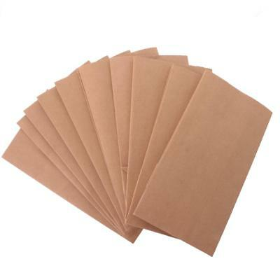 10pcs Kraft Flat Paper Bags Good for Sweet Candy Buffets, Merchandise
