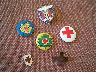 Vintage Blood Donor Badges: South Africa, Canada, US, Victoria Jubilee Hospital