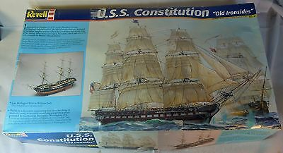 """Revell #0398 U.s.s. Constitution """"old Ironsides"""" Model Ship Kit 1:96 Scale"""