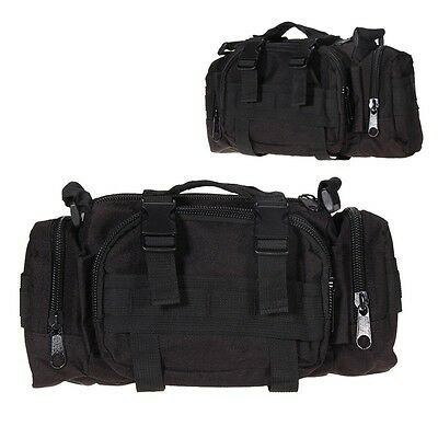 Military Tactical Waist Shoulder Pack Molle Assault Bags Camping Hiking Outdoor