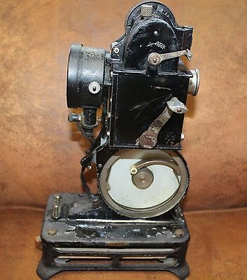PATHESCOPE BABY 9.5mm VINTAGE MOVIE PROJECTOR. NEW SHUTTER,