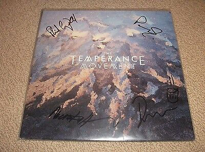 The Temperance Movement - Autographed Vinyl LP Record *Band Signed* Blues Rock