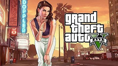 Grand Theft Auto V 5 Steam (PC) - Europe ONLY -