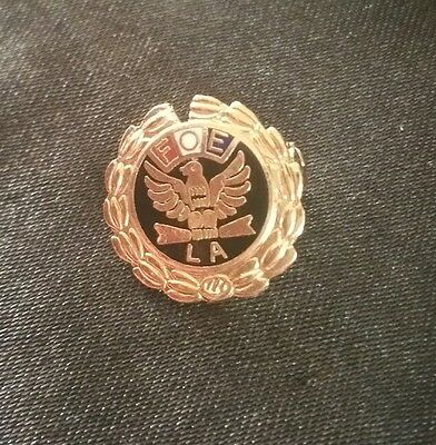 Fraternal Order of Eagles Lapel Pin ~ Vintage ~ FOE Tie Tack ~Collectible Badge!