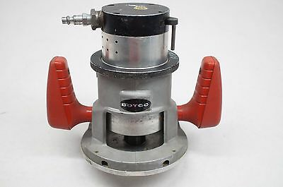 """DOTCO 10T4318A-62 Pneumatic Router 1/2"""" Collet, Fixed Base, 18000 RPM"""
