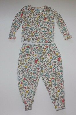 babyboden Mini Boden Infant Girl Two Piece Cotton Pajamas 9-12 Months