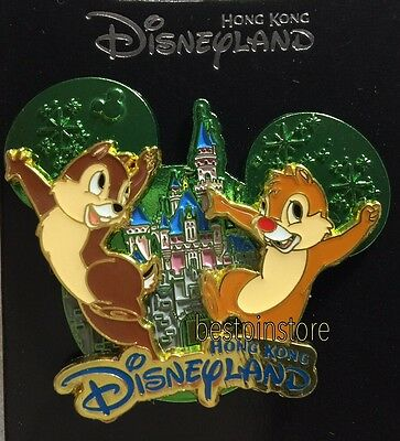 Disney pin - HKDL 2017 Castle Collection - Chip n Dale