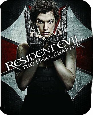 Resident Evil: The Final Chapter  Limited Edition Steelbook  Region Free  NEW