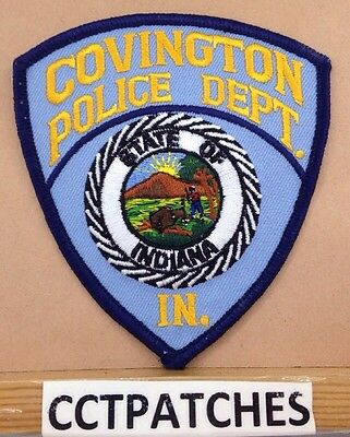 Covington, Indiana Police Shoulder Patch In