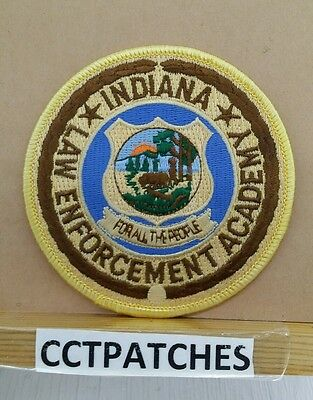 Indiana Law Enforcement Academy (Police) Shoulder Patch In
