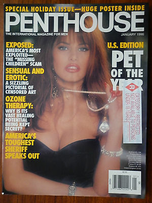 penthouse u january 1996 special holiday issue huge poster inside aud. Black Bedroom Furniture Sets. Home Design Ideas