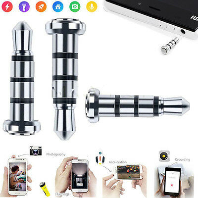 3.5mm Universal Android Smart Phone Button Press Pluggy Dust Proof Plug Tool Kit