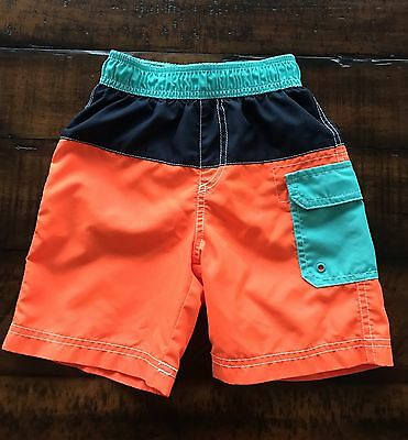 Nwot The Children's Place Toddler Boy Swim Trunks,Size 3T