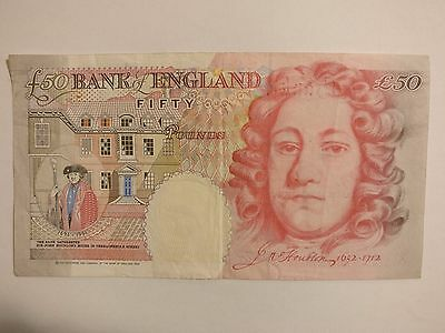 50 Sterling Pound Bank of England Note (Circulated)