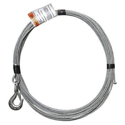 OZ LIFTING PRODUCTS Cable,Galvanized Steel,800 lb., OZGAL.19-80B