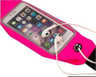 For iPhone Running Jogging Outdoor Sports Waist Belt Soft Bag Case Cover Strap