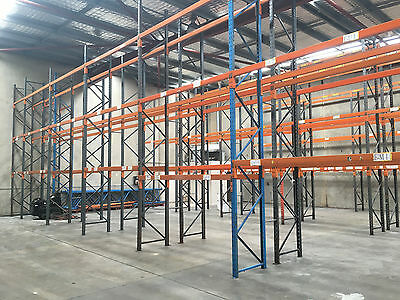 pallet racking uprights used