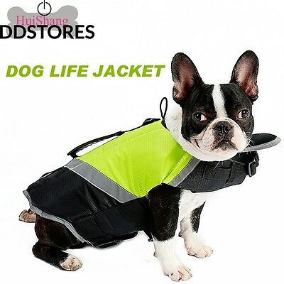 Huishang Pet Saver Life Jacket Veste de Sauvetage Dog Floatation Vest...
