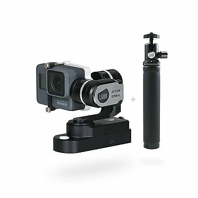 LUUV ACTION GIMBAL 3-Achs-Gimbal GoPro HERO5/4/3+/3 und anderen ActionCams