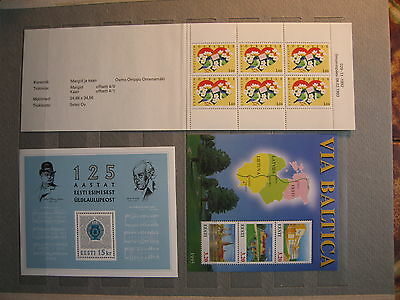 Estonia EESTI  unused  stamps   Perfect condition MNG OG   lot-13