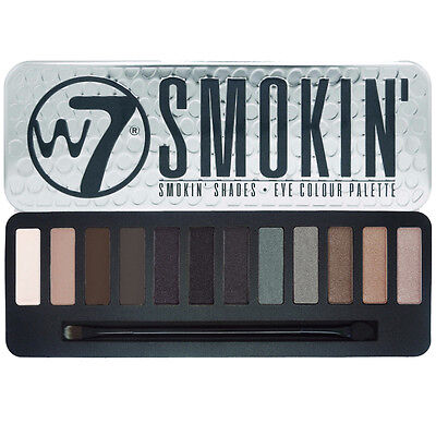 W7 Smokin' Shades Eye Shadow Colour Palette