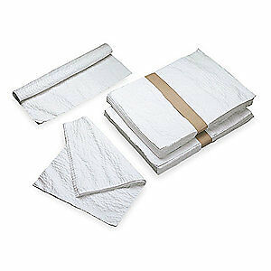 ABILITY ONE Nylon Scrim Disposable Towels,White/Natural,PK10, 7920-00-823-9772