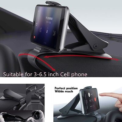 New HUD Car Dashboard Holder Stand Universal for Iphone 7 6plus 5/4s Cell Phone