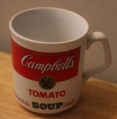 CAMPBELL'S Tomato Soup Cup Mug Canadian English French made in England