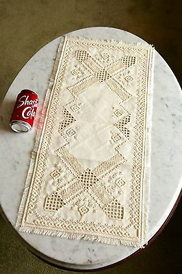 Antique Hardanger Awesome Detail, Well Preserved, Estate Find, Late 19th Century