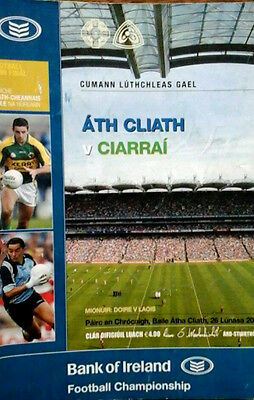 Dublin V Kerry 26/8/2007 Gaa All Ireland Football  Semi Final