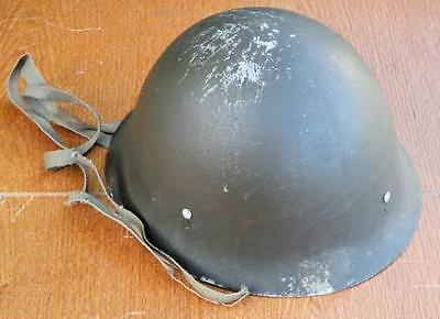 Japanese WWII Japanese Military Soldier's or Civilian's Helmet  #a2680