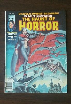 Marvel Preview #12 HIGH GRADE 1st App Lilith Daughter of Dracula (1977)