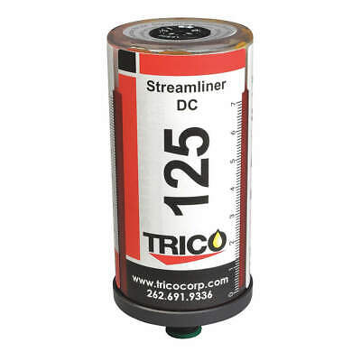 TRICO Polyethylene Terephthalate Single Point Lubricator,5 in. H,4 oz., 33944